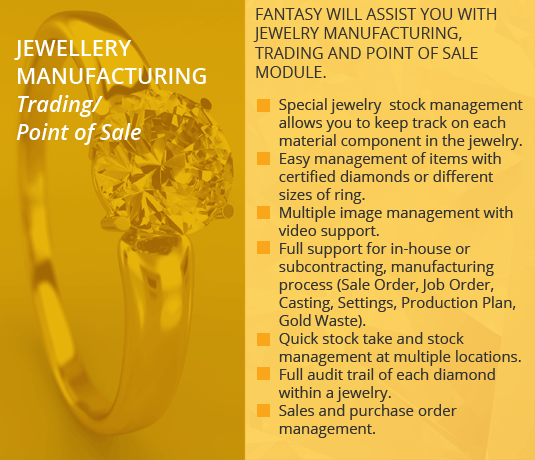 Jewellery Manufacturing
